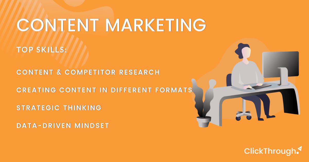 THESE ARE THE 5 MOST IN-DEMAND SKILLS FOR DIGITAL MARKETERS