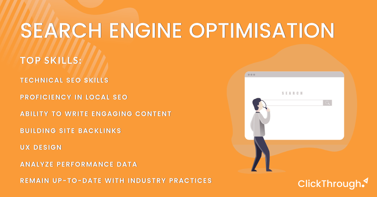 The top skills in demand for SEO marketers