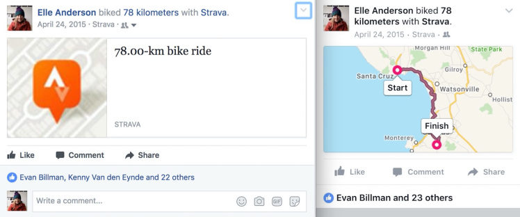 Starva's social sharing feature used to drive user acquisition